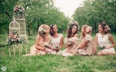 Декор девичника - подсказки для подружек невесты