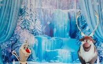 оформление дня рождения в стиле Frozen