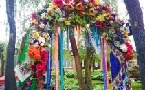 оформлення весілля в українському стилі