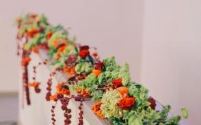 оформление осенней свадьбы