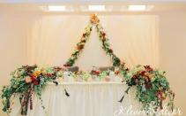 оформление осенней свадьбы киев