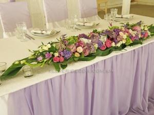 украшение зала на свадьбу киев