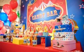 оформление детского праздника цирк