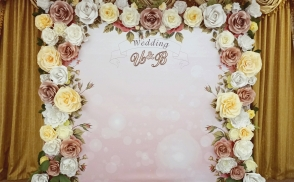 фотозона на свадьбу киев