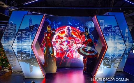 украсить день рождения супергерои киев
