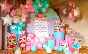 оформить день рождения в стиле лол киев