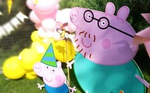 день рождения в стиле свинка пеппа киев