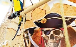 пиратский день рождения киев
