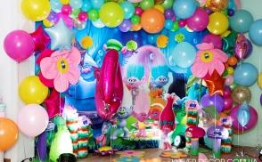 оформление дня рождения киев тролли