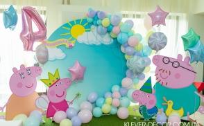 день народження в стилі свинка пепа