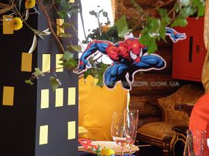 оформление дня рождения супергерои киев