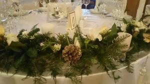 украсить зимнюю свадьбу