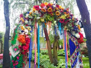 оформление свадьбы в украинском стиле киев