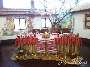 оформление свадьбы в украинском стиле в киеве